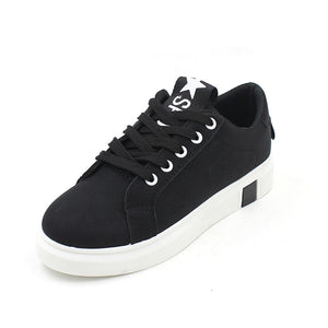 2020 new winter women's casual shoes lace round schoolgirl running shoes wholesale shoes
