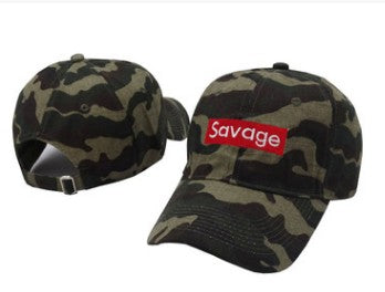 Savage Embroidery Dad Hat