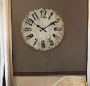 Vintage clock fashion digital wall clock