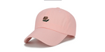 Flag Striped Male and Female Students Winter Personality Embroidery Duck Tongue Bend along Baseball Hip Hop Hat Soft Top