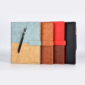 Elfinbook X leather surface App backup management smart paper notebook repeatable writing painting handwriting