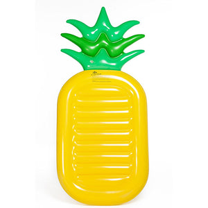 Inflatable pineapple floats for summer swimming