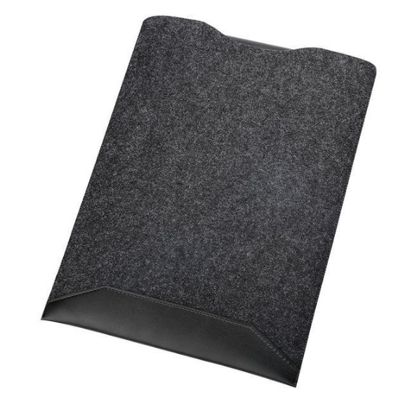 Minimalist Laptop Sleeve with Mousepad for Mac