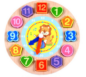 Digital Beaded Clock Toy