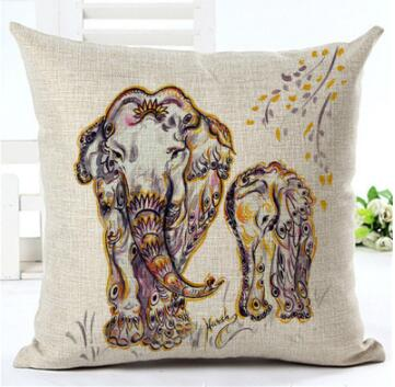 Sell the factory direct elephant series office bedroom home to hold pillowcase