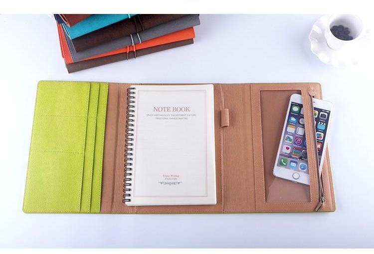 Multifunctional PU Leather Business Planner