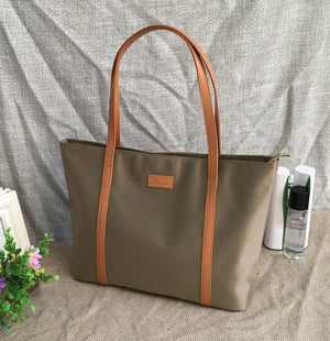 Waterproof Oxford Canvas Shopping Bag