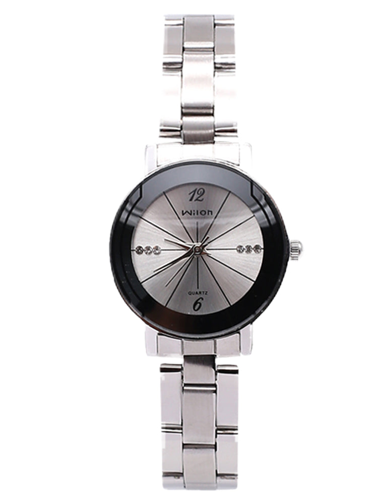 Beautiful Silver Strap Watch