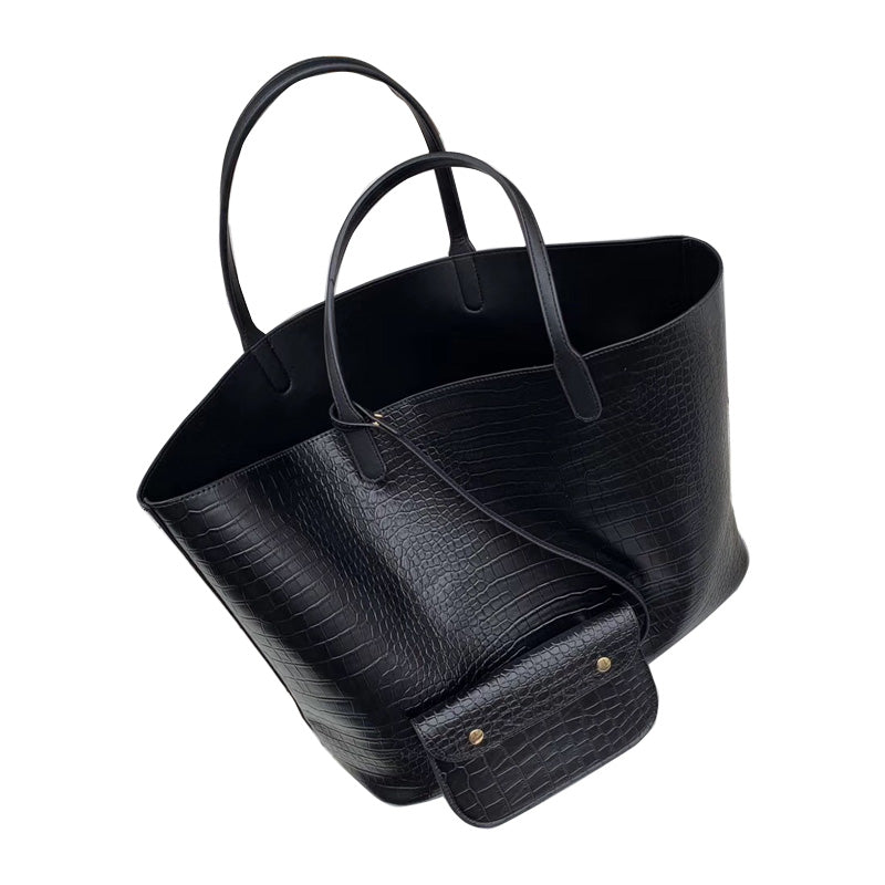 Adorable Durable Faux Snake Workplace Tote