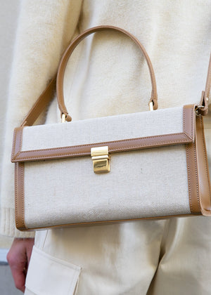 Vintage Elegant Top Handle Bag