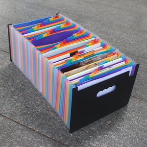 Large Organ Fold A4 Storage File