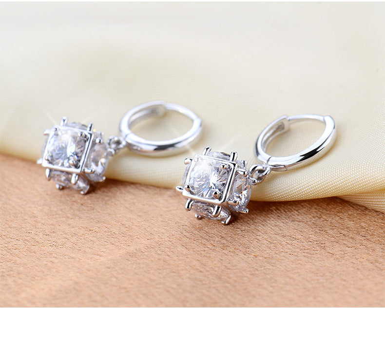 Gorgeous Boxed Crystal Earrings