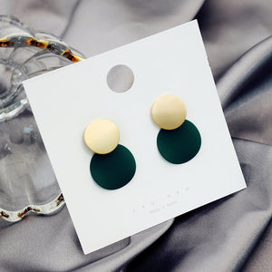 Cute Hinged Button Earrings