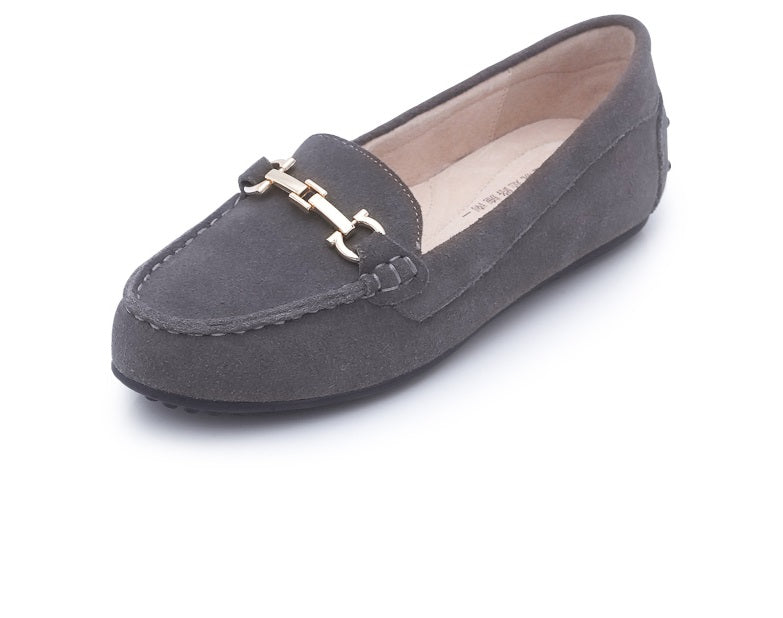 Lovely Cozy Ballet Flats with Chain
