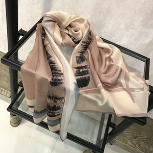 COAT & SCARF - GRANITE