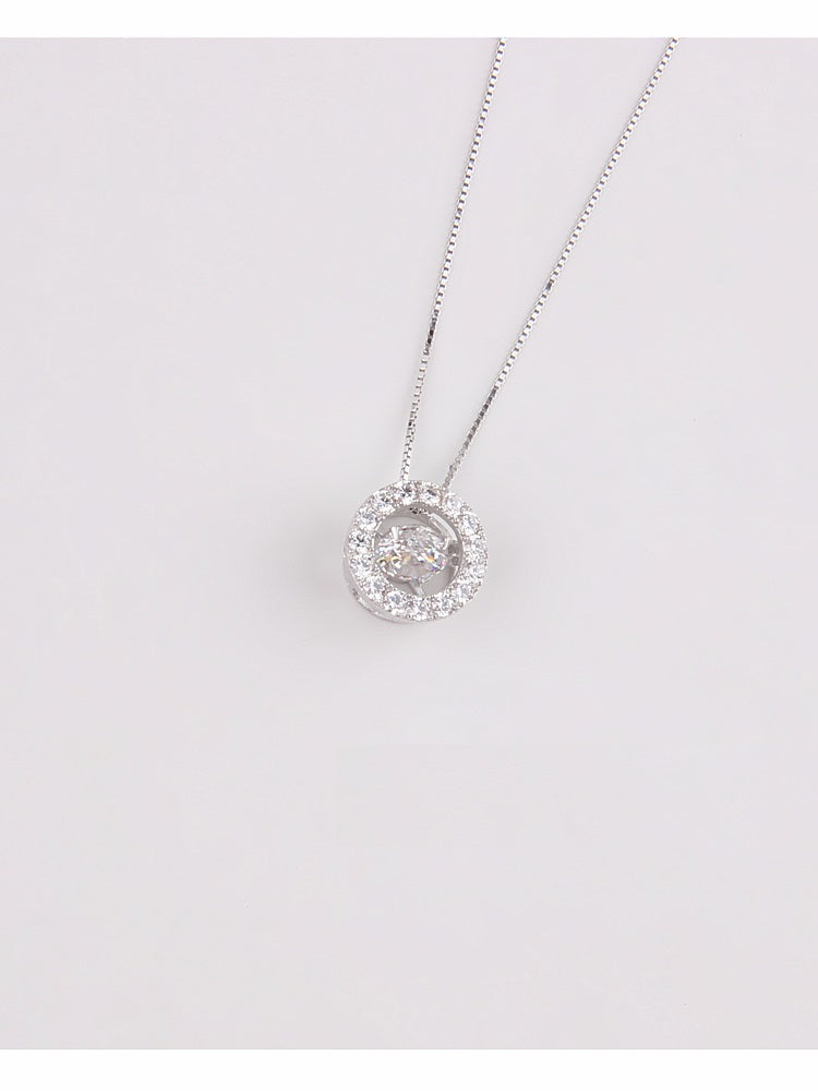 Crystal Halo Necklace