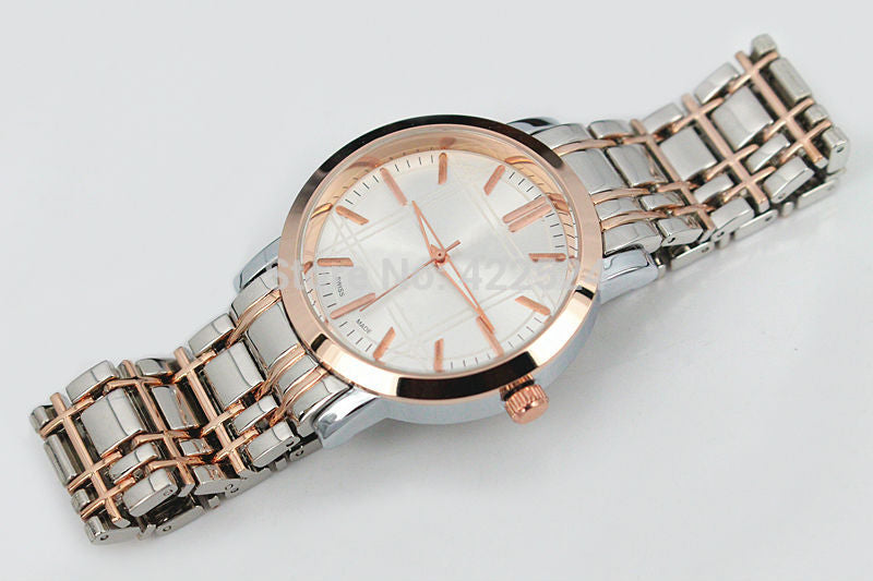 Elegant Gold Stream Classic Watch