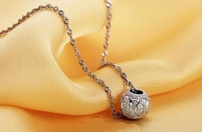 Sterling Silver Ball and Chain