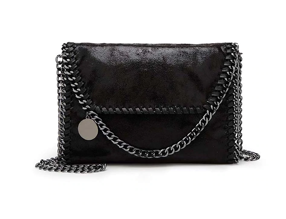 Chain Link Pillow Purse