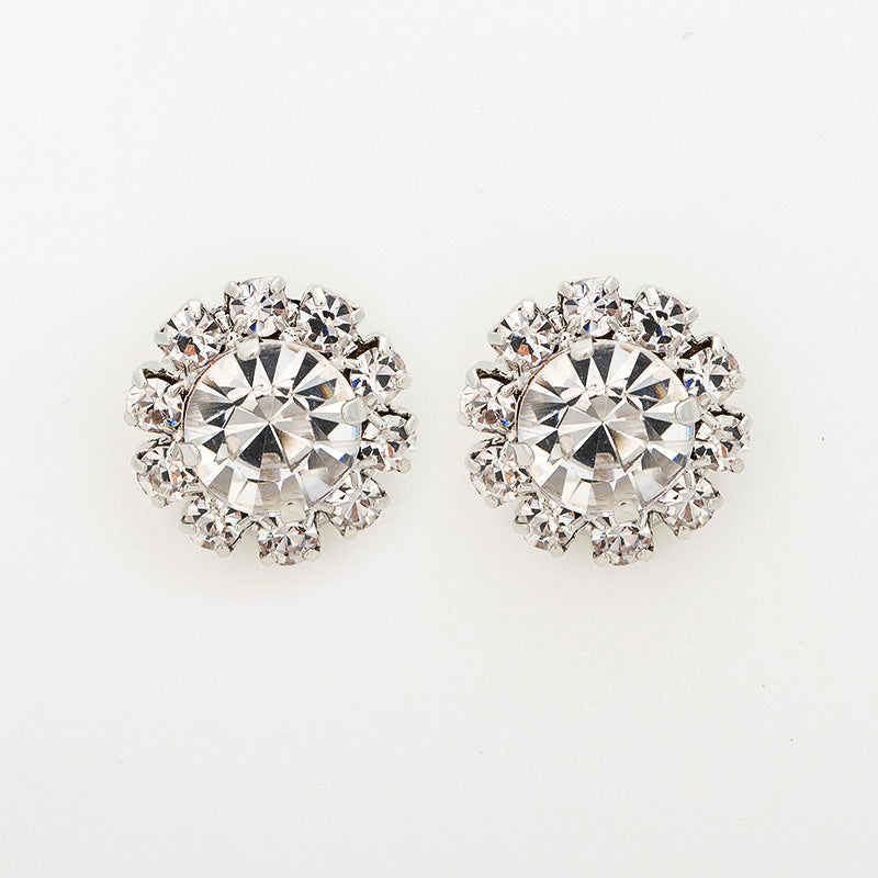 Sparkling Crystal CZ Earrings