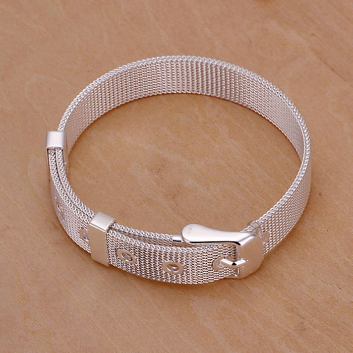 925 jewelry silver plated  jewelry bracelet fine fashion bracelet top quality wholesale and retail SMTH237