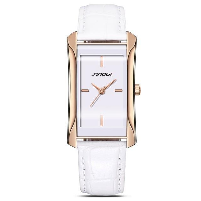 Elegant  Square Golden Wrist Watch