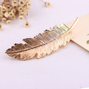 Leaf Barrette