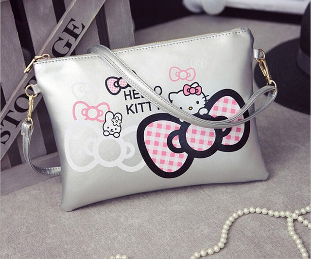 Minnie  Cartoon Envelope Bag