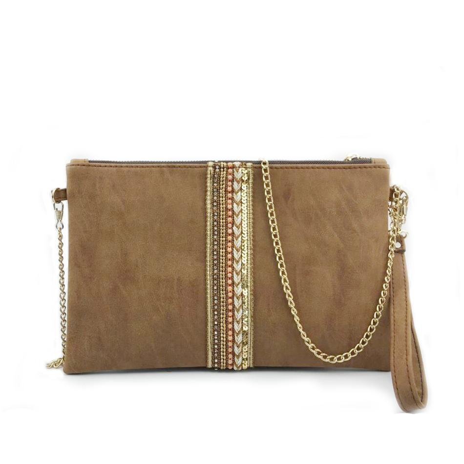Leather Day Clutches