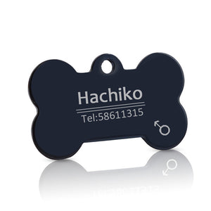 Decorated Pet ID Dog Tags