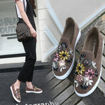 Crystal and Flower Encrusted Espadrille
