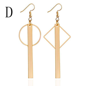 Elegant Polygonal Earrings