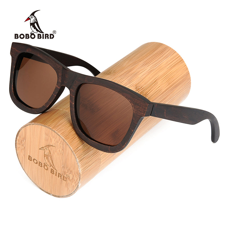 BOBO BIRD Polarized Sun Glasses Retro Men and Women Luxury Handmade Wood Sunglasses for Friends as Gifts AG005b Dropshipping OEM