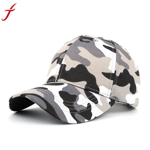 Outdoor Sporting snapback Women Men Casual Tactical Camouflage Cap Black Green  Adjustable Baseball Cap Hat bone