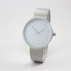 Stainless Steel Chain Mail Strap Watch