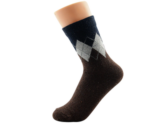 Diamond Emblazed Socks
