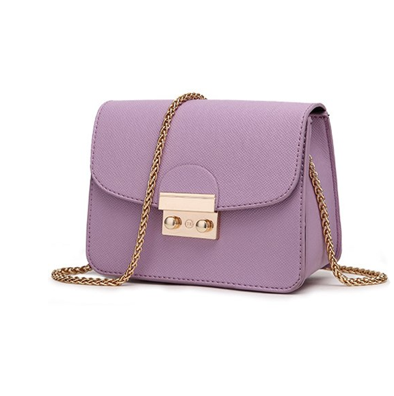Subtle Chic Clasp Closure Purse
