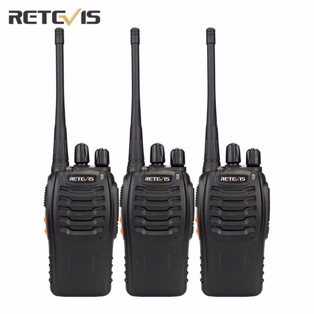 Retevis Walkie Talkie- 3 pieces