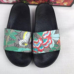 Cozy Animated Gucci Slippers - Butterfly