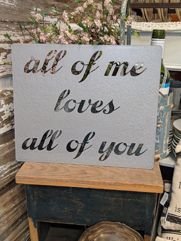 """All of Me Loves All of You"" 