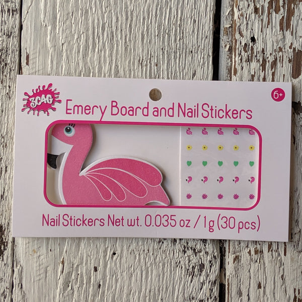 flamingo nail set