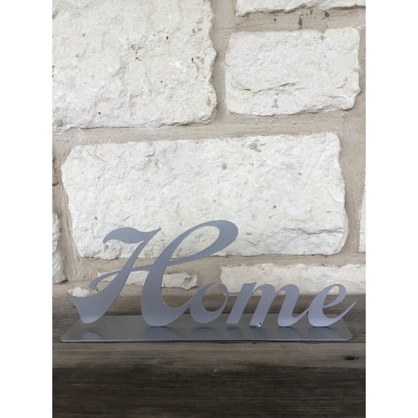 Tabletop Home Sign | Metal Decoration