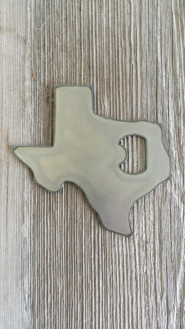 Texas Metal Bottle Opener