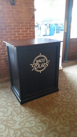 Custom Kiosk for Waco Tours