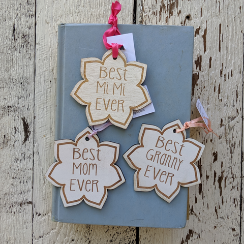 Customizable Ornament/ Gift Bag Tag