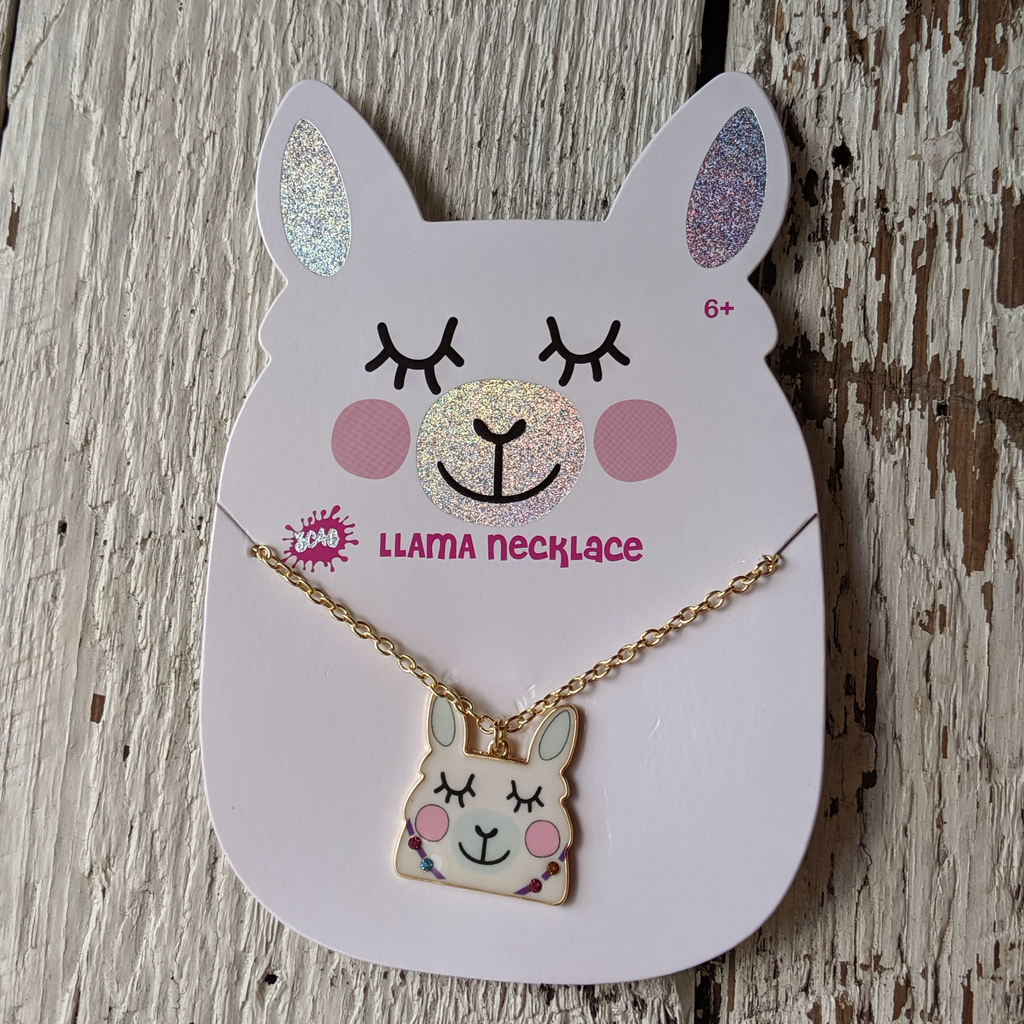 llama necklace three cheers for girls