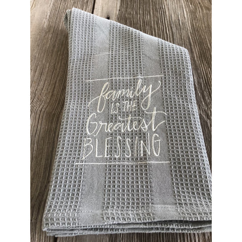 Reserved-Four Family Blessing Towels