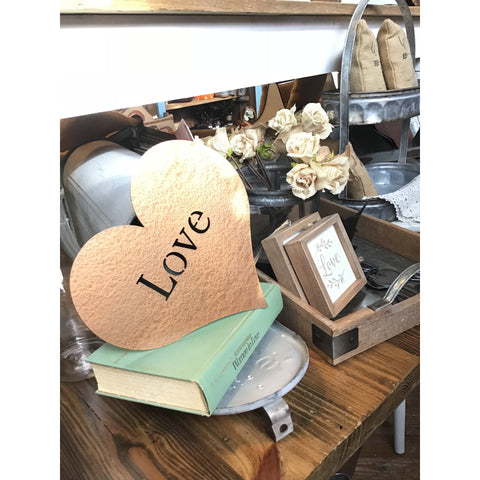 Love Heart | Metal Sign