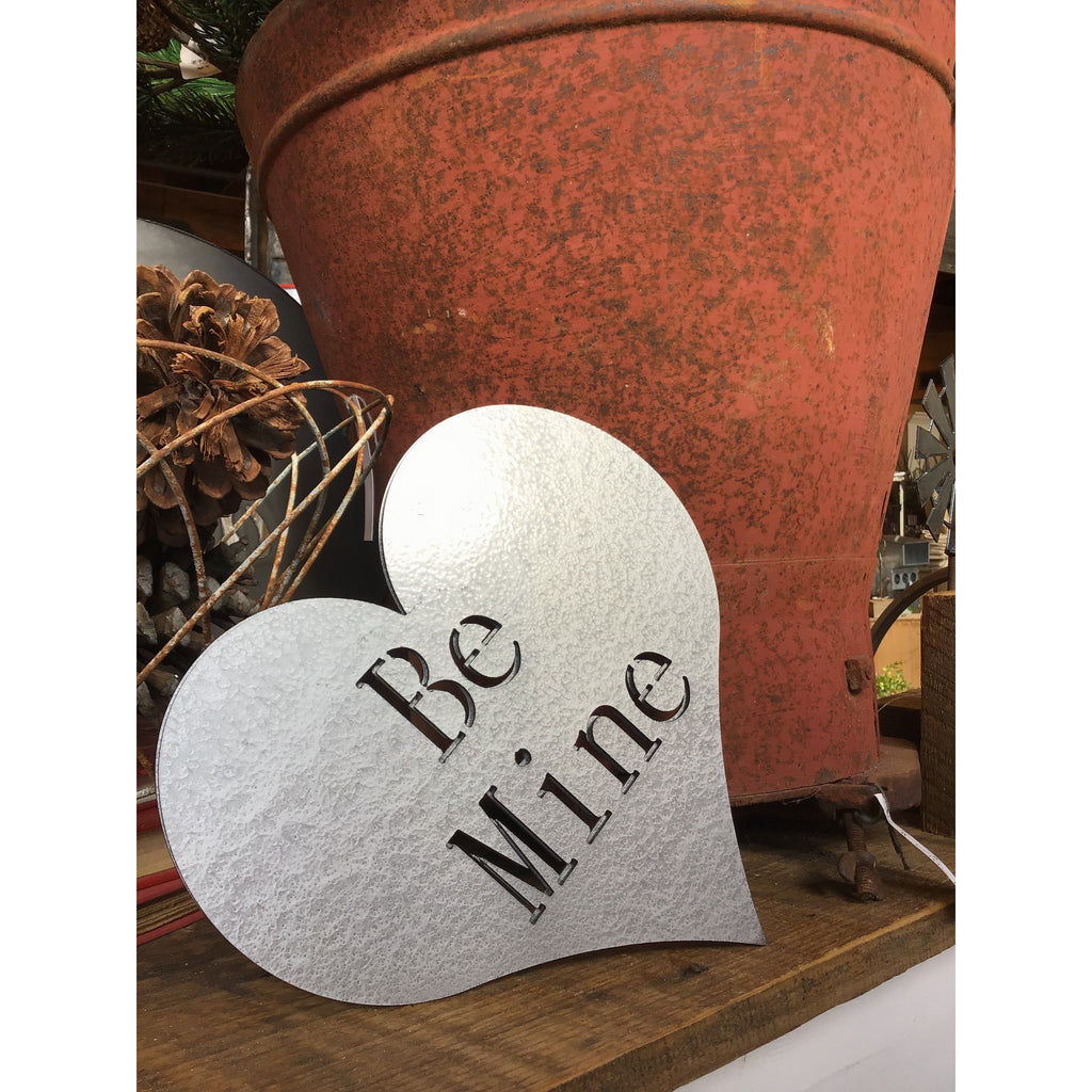 Be Mine Heart | Metal Sign