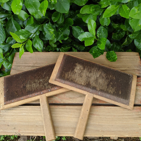 Cotton Carder, Cotton Paddles, Pair of Primitive Cotton Carders, Primitive Farm Tools